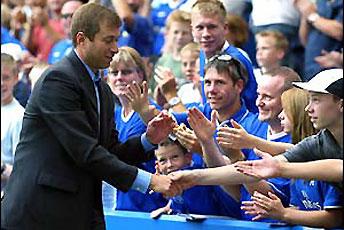 Abramovich fans de Chelsea