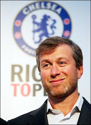 Abramovich - Président Chelsea