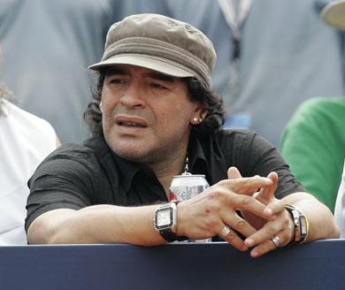 Maradona nouveau sélectionneur de l'albiceleste