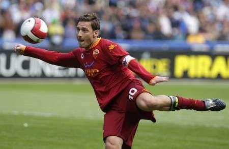 Le Milan veut Totti
