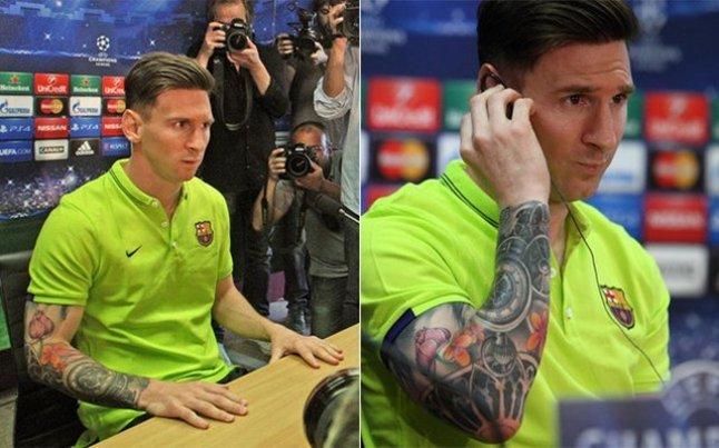 Lionel Messi tatouage