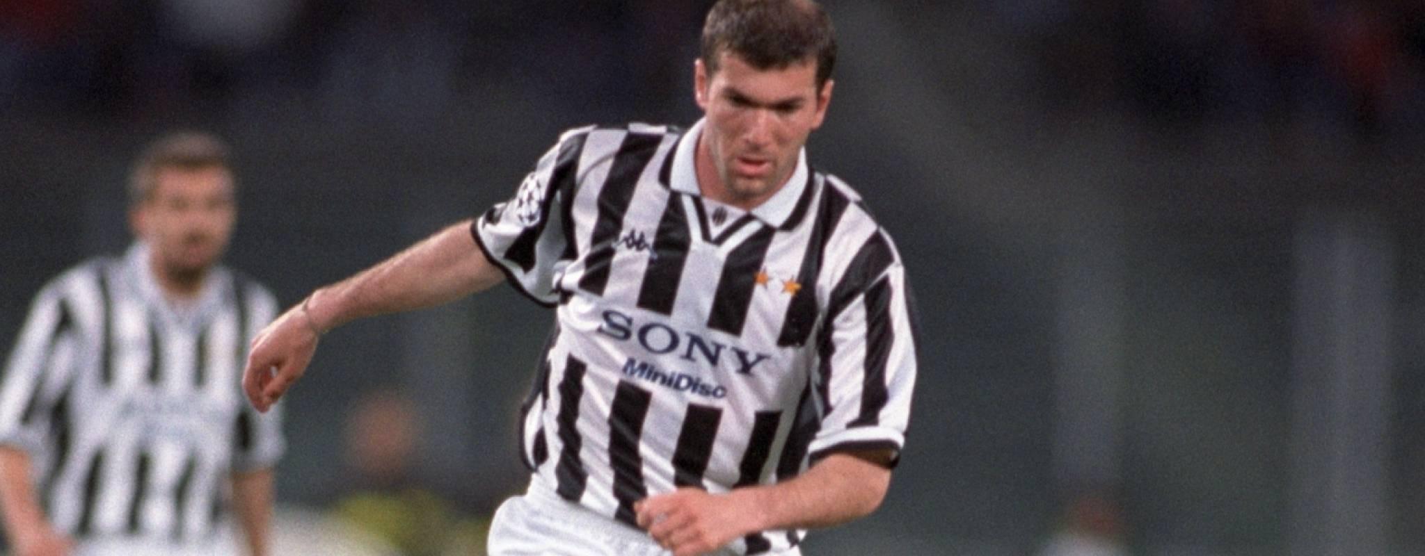 Zinedine Zidane Juventus Ajax 1997