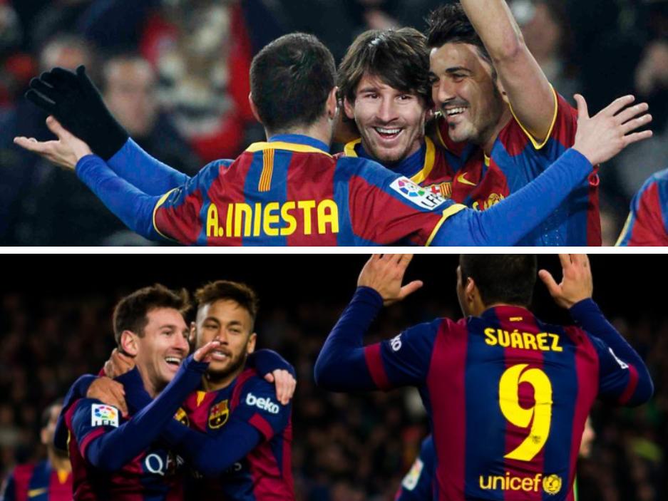 Barça 2011 vs 2015