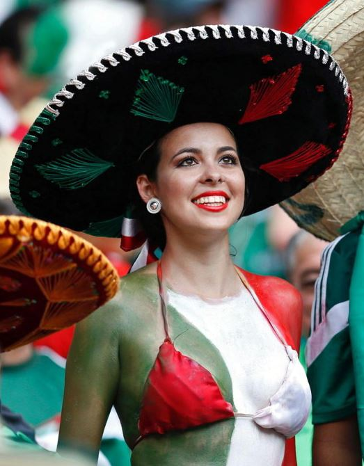Les supportrices mexicaines fans de Gignac