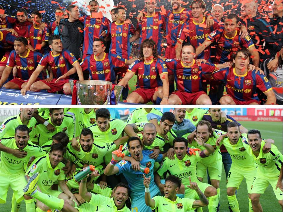 Championnat Barcelone 2011 et 2015