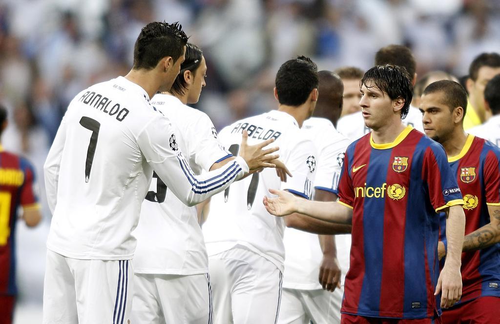 Cristiano Ronaldo et Messi