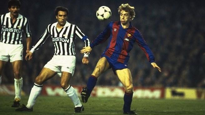 Juventus Barcelone 1986