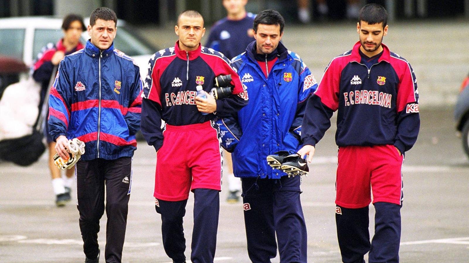 Mourinho et Guardiola 2