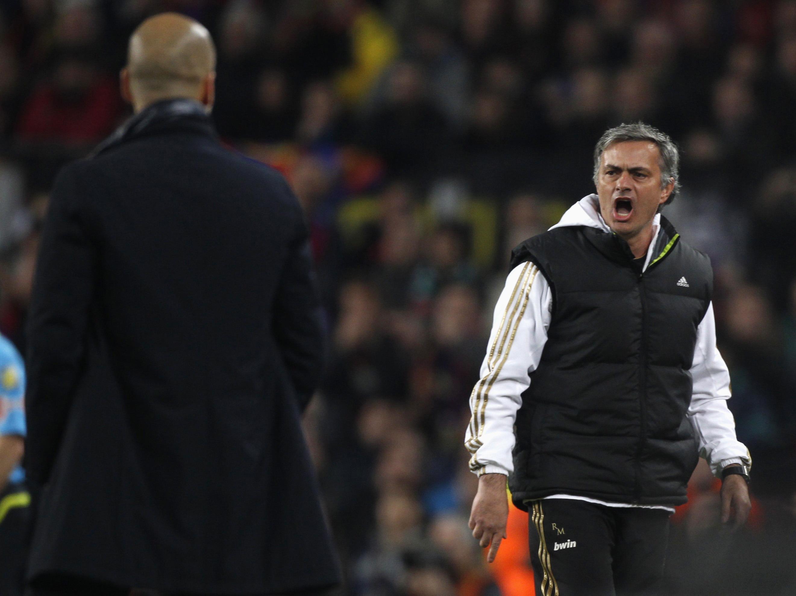Mourinho et Guardiola