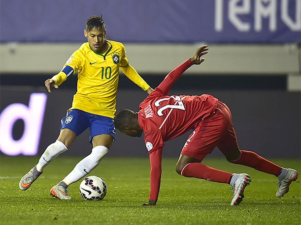 Neymar vs Perou