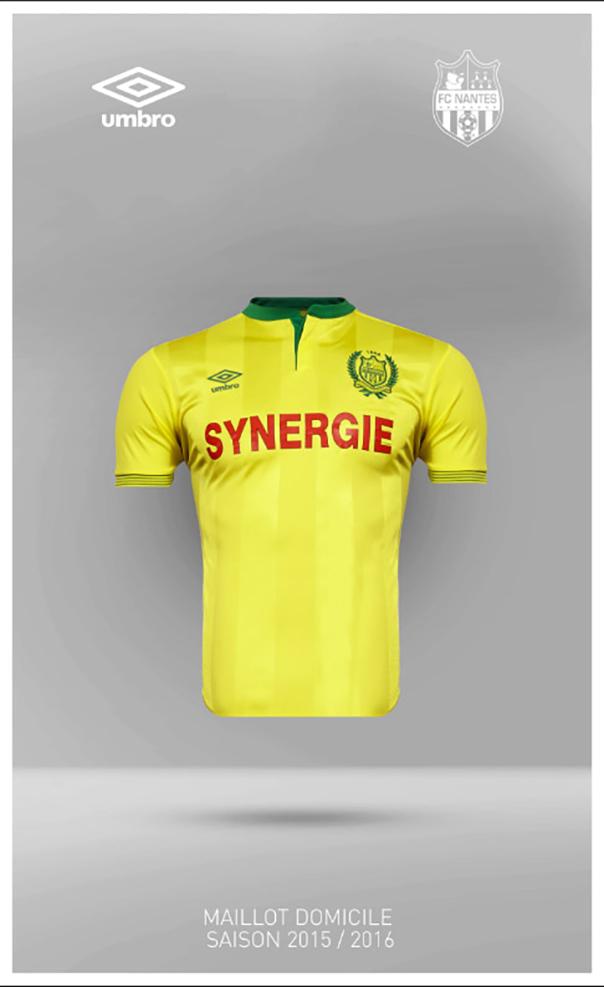 Nouveau maillot Nantes