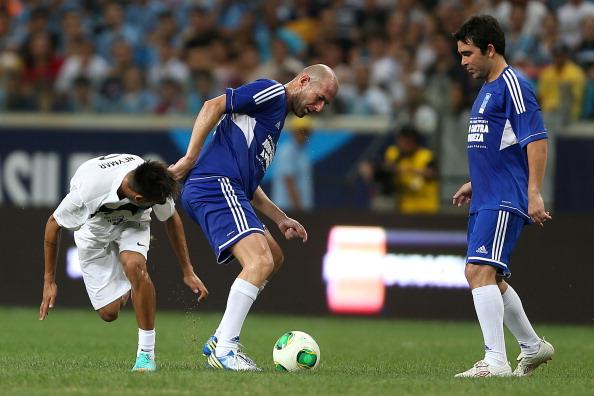 Zidane et Neymar