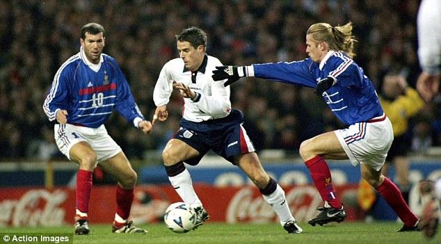 Zidane Angleterre France 1999