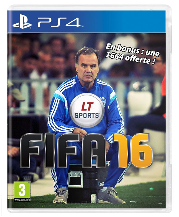 FIFA 16 - Jaquette glacière Marcelo Bielsa