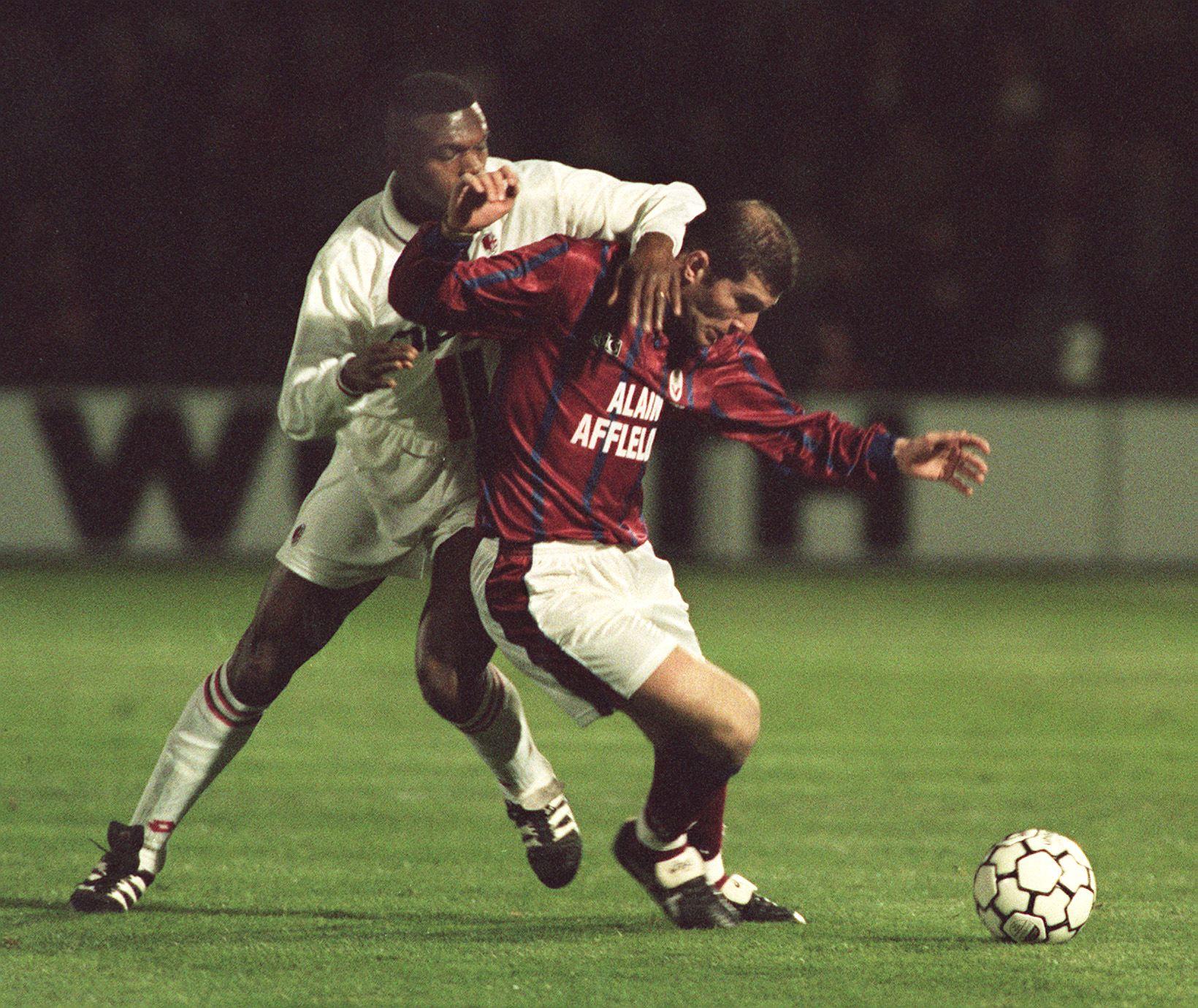 Zidane, Bordeaux - Milan AC 1996