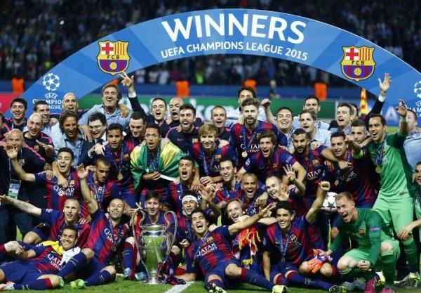 Le Barça champion d'Europe 2015