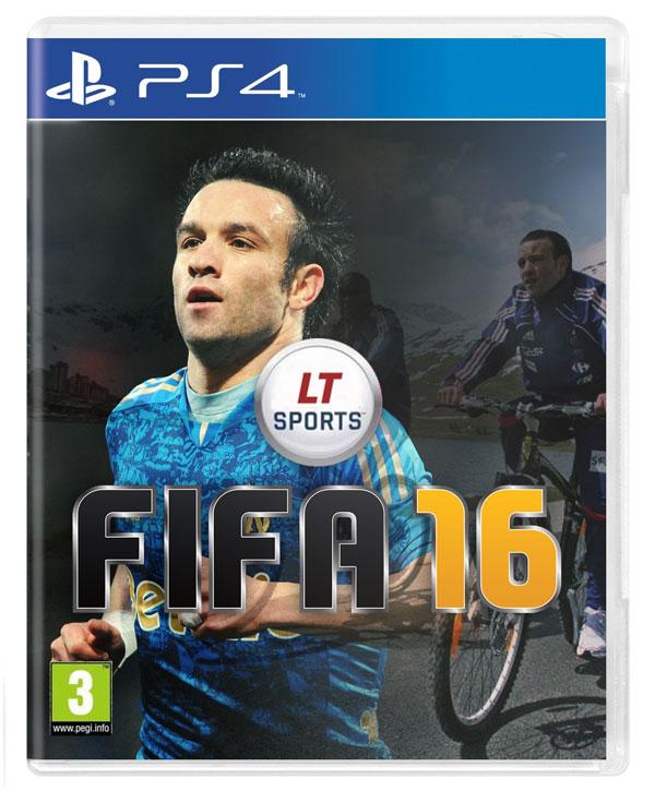 FIFA 16 - Jaquette Petit Velo Mathieu Valbuena