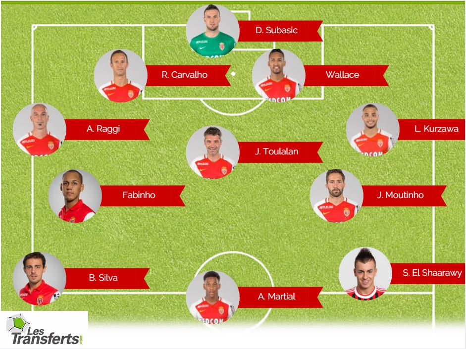AS Monaco Type 2015 2016