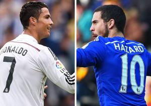 Cristiano Ronaldo Eden Hazard