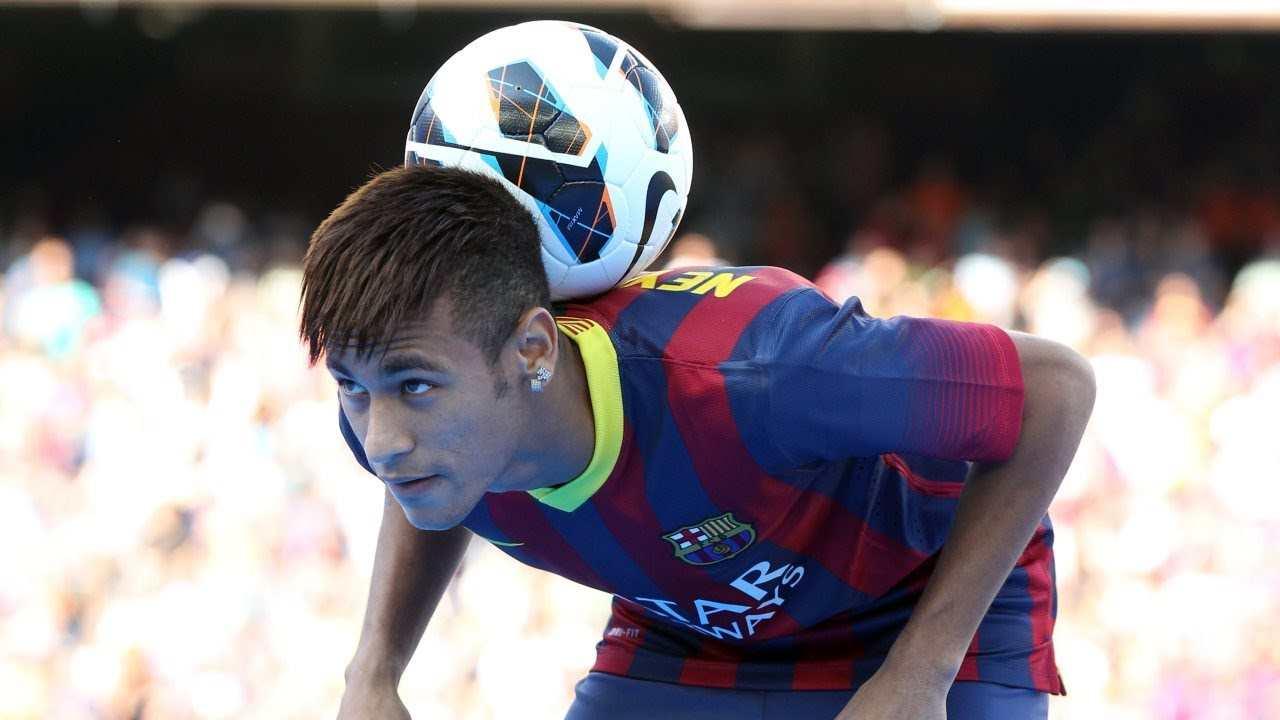 Neymar présentation