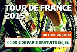 Tour de France 2016 sur PMU : 2500€ à gagner