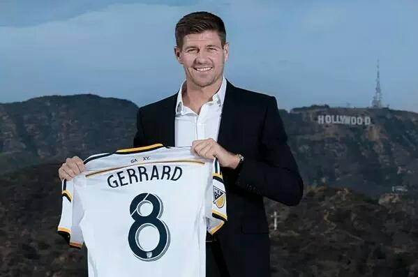 Steven Gerrard LA