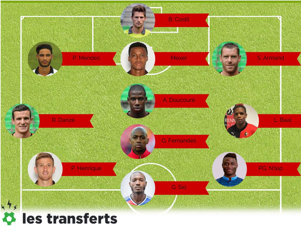 Rennes 11 type 2015-2016