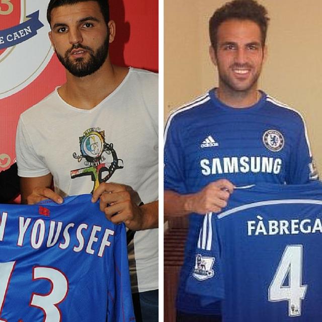 Ben Youssef et Fabregas