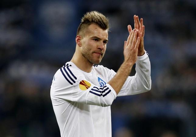 Yarmolenko intéresse le Bayern