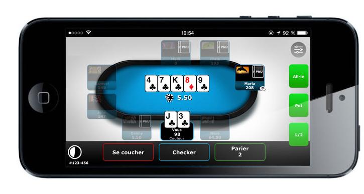 Application PMU Poker