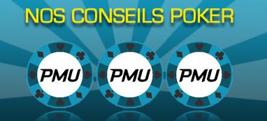 Conseils Poker PMU