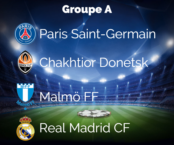 Groupe A PSG