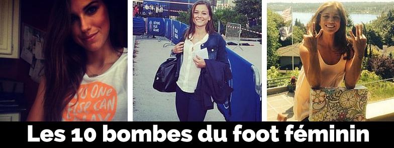 Les 10 bombes du foot féminin