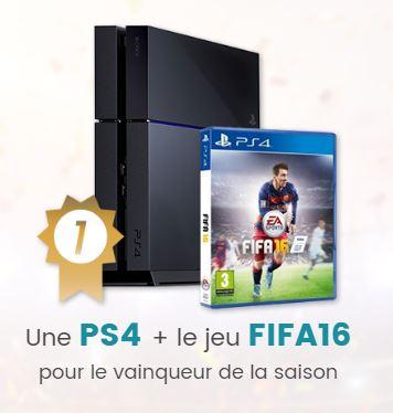 PS4 et Fifa 16