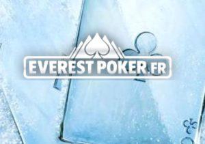 Cartes de poker gelées