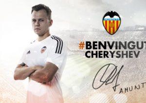 Cheryshev à Valence