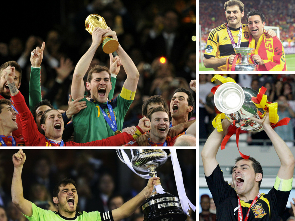Casillas trophees