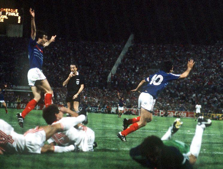France-Portugal 1984