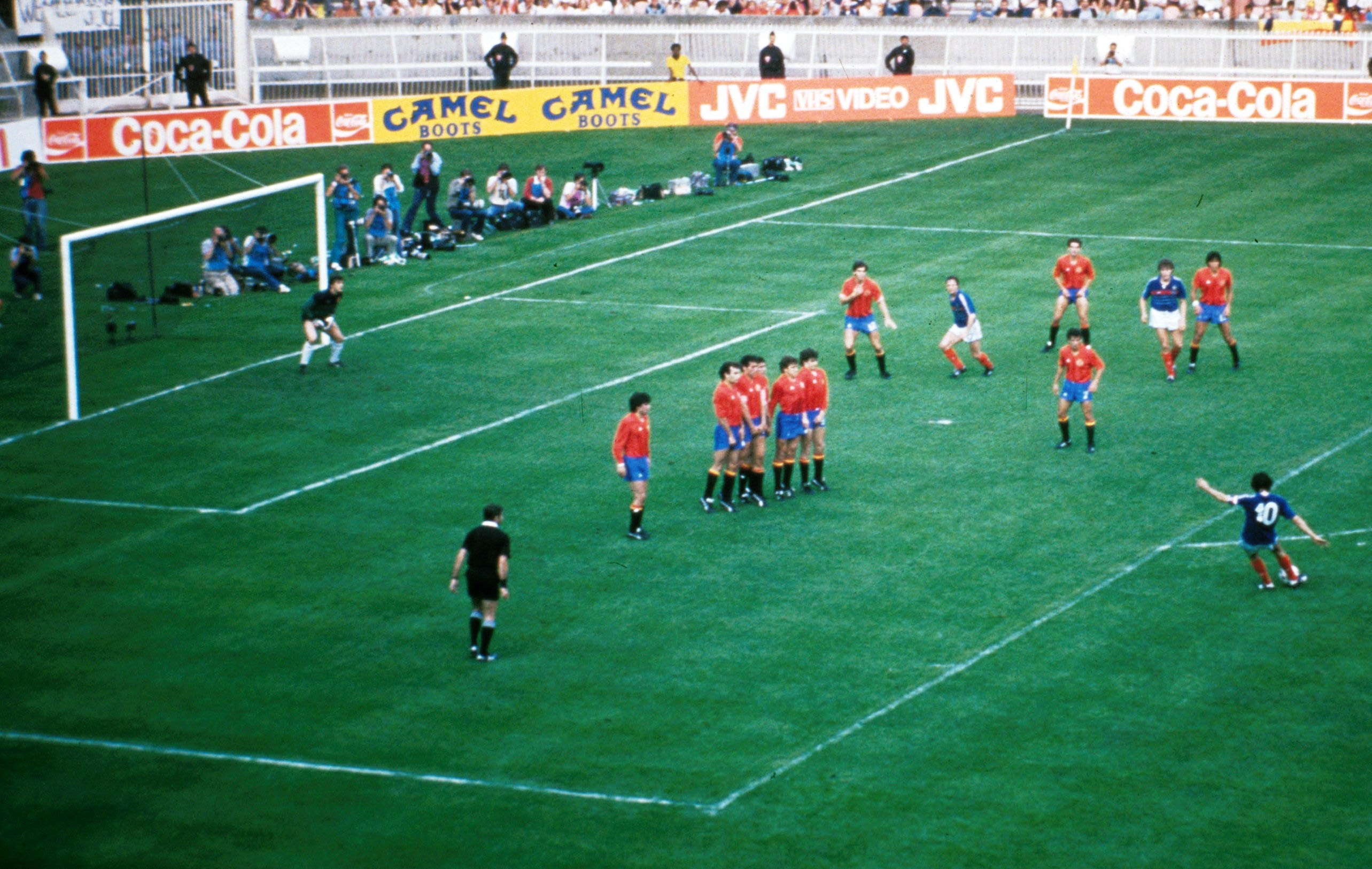 France Espagne 1984