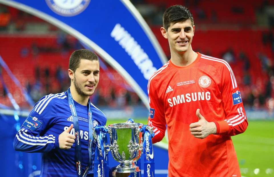 Real Madrid : Thibaut Courtois évoque l'arrivée d'Eden Hazard