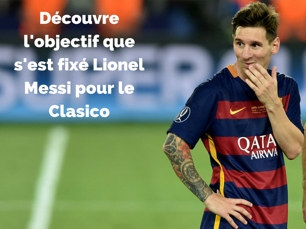 Objectif Messi