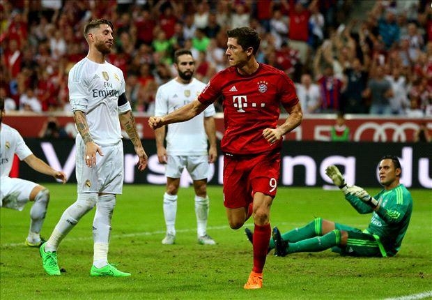 Lewandowski face au Real Madrid