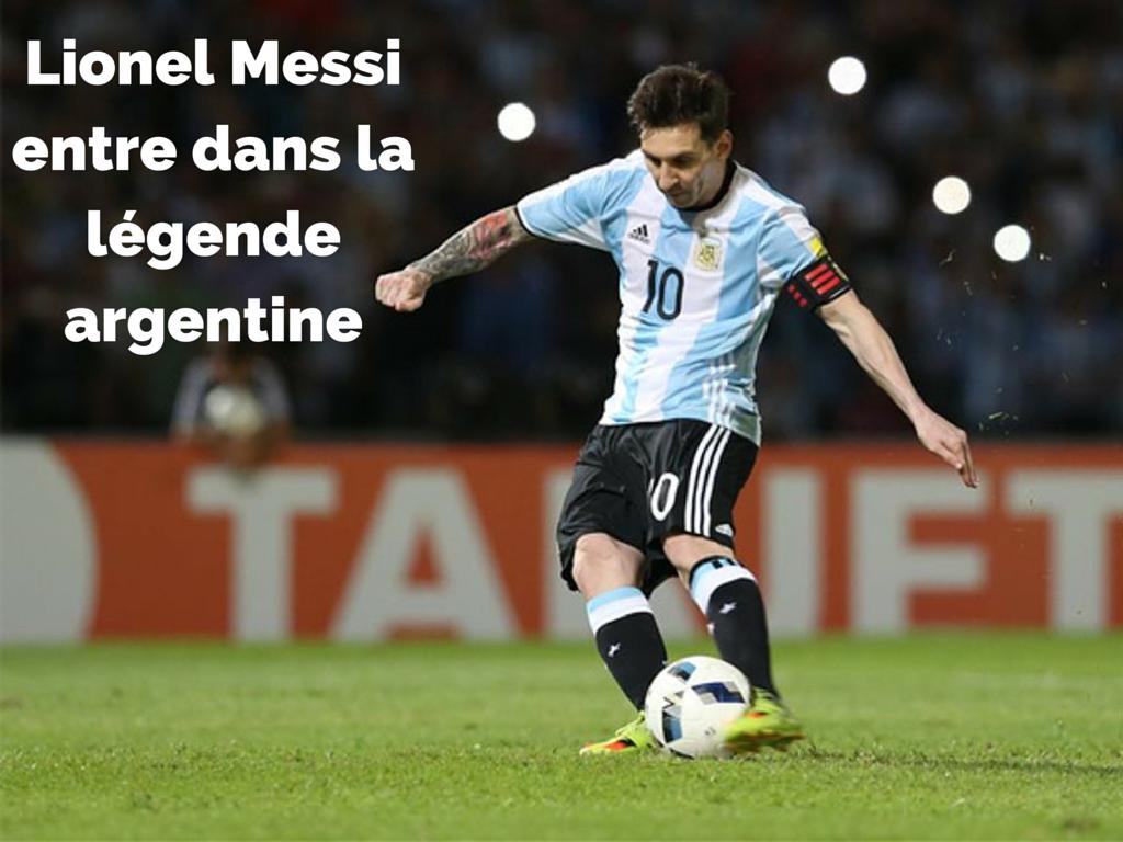 Messi Argentine