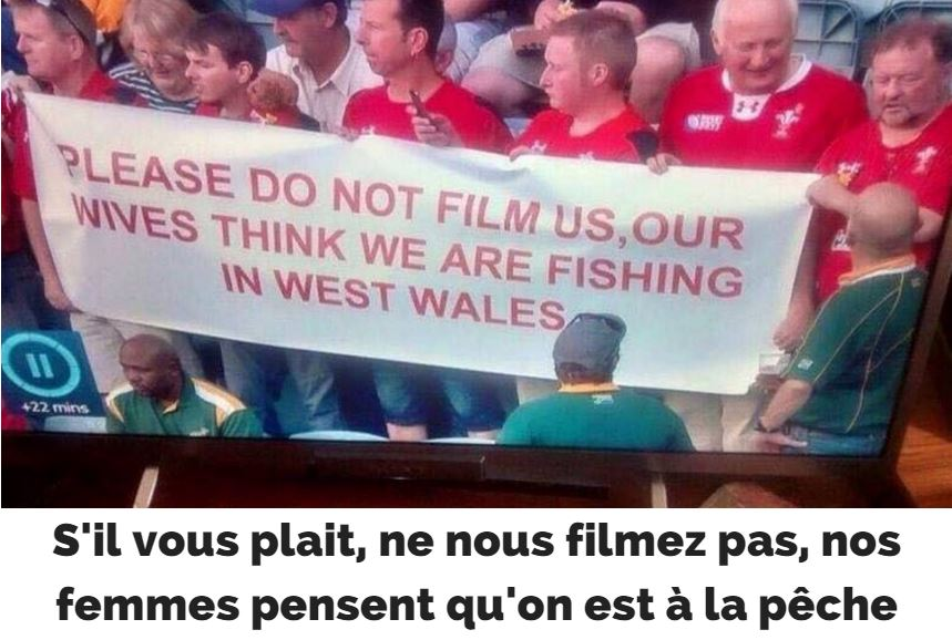 Supporters gallois