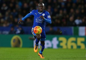 Ngolo Kante of Leicester City
