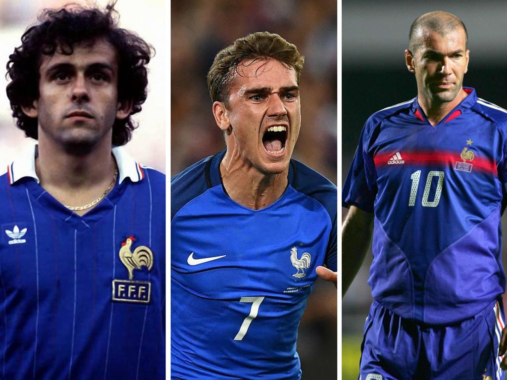Top 4 des meilleurs buteurs français à l'Euro