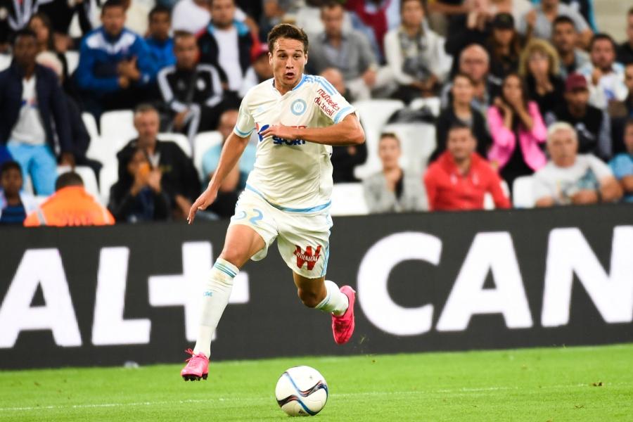 Javier Manquillo - 13.09.2015 - Marseille / Bastia - 5e journee Ligue 1 Photo : Alexandre Dimou / Icon Sport