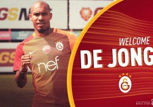 de Jong à Galatasaray