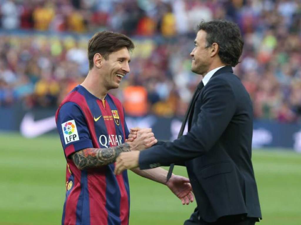 Messi Enrique
