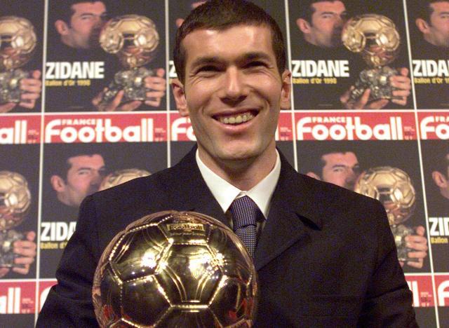 Zidane Ballon d'Or
